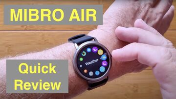 SIMSON MIBRO AIR with Rotating Dial IP68 Waterproof Bluetooth 5.0 Sports Smartwatch: Quick Overview