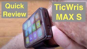 TICWRIS MAX S (Smaller MAX) 2.4 Screen 2000mAh Dual Camera 4G 3G+32G Smartwatch: Quick Overview