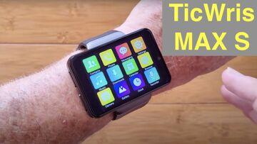 TICWRIS MAX S (Smaller MAX) 2.4 Screen 2000mAh Dual Camera 4G 3G+32G Smartwatch: Unboxing & 1st Look