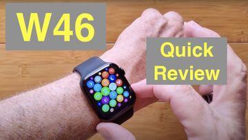 """WOGATA W46 1.78"""" HD Screen IP68 Waterproof Apple Watch Shaped Health Smartwatch: Quick Overview"""