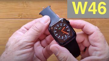 """WOGATA W46 1.78"""" HD Screen IP68 Waterproof Apple Watch Shaped Health Smartwatch: Unboxing & 1st Look"""