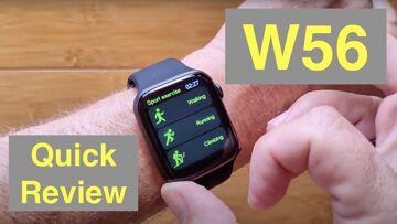 "WOGATA W56 1.78"" HD Screen IP68 Waterproof Apple Watch Shaped BT Calling Smartwatch: Quick Overview"