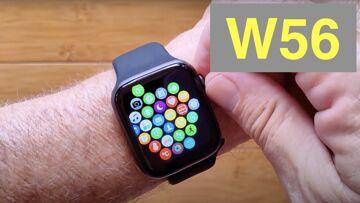 """WOGATA W56 1.78"""" HD Screen IP68 Waterproof Apple Watch Shaped BT Calling Smartwatch: Unbox& 1st Look"""