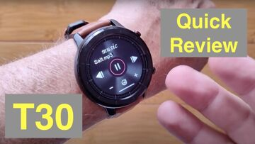 LUCAKUINS T30 BT Call, Music Storage, IP67 Waterproof Health Fitness Smartwatch: Quick Overview