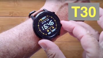 LUCAKUINS T30 BT Call, Music Storage, IP67 Waterproof Health Fitness Smartwatch: Unboxing & 1st Look