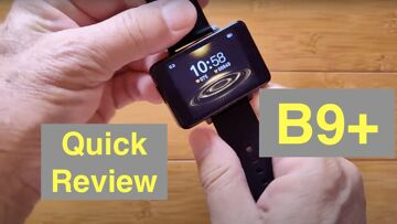 """Bakeey B9+ Dual Chip 2.2 """" Full Touch Screen 30 Day Battery BT Call Smartwatch: Quick Overview"""