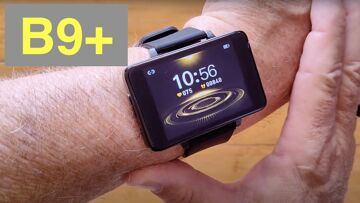 """Bakeey B9+ Dual Chip 2.2 """" Full Touch Screen 30 Day Battery BT Call Smartwatch:  Unboxing & 1st Look"""