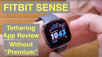 FITBIT SENSE Fitness Smartwatch: Detailed Look at the Phone Tethering App