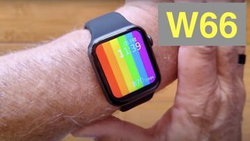 FINOW W66 Apple Watch Shaped Bluetooth Calling Temperature Health Smartwatch: Unboxing and 1st Look
