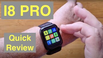 FINOW I8 PRO Apple Watch Shaped Bluetooth Calling GPS Temperature Smartwatch: Quick Overview