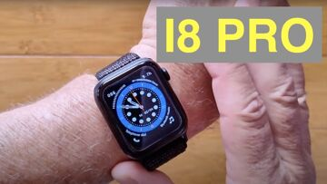 FINOW I8 PRO Apple Watch Shaped Bluetooth Calling GPS Temperature Smartwatch: Unboxing & 1st Look