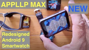 NEW! LOKMAT AAPLLP MAX (S999) Android 9 Smartwatch. Come see what's about to be released for 2021.