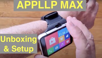 Part 2: LOKMAT APPLLP MAX (S999) 4GB+64GB 13MP+5MP 2300mAh Android 9 Smartwatch – Unboxing and Setup