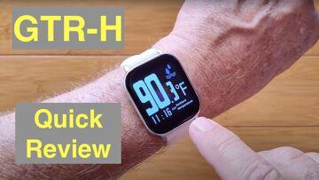 Bakeey GTR-H Continuous Temperature IP67 Waterproof Health Smartwatch: Quick Overview