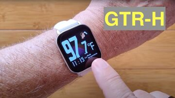 Bakeey GTR-H Continuous Temperature IP67 Waterproof Health Smartwatch:  Unboxing and 1st Look