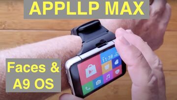 Part 3: LOKMAT APPLLP MAX (S999) 4GB+64GB 13MP+5MP 2300mAh Android 9 Smartwatch – Faces & Operation
