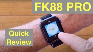 FINOW FK88 PRO Apple Watch Shaped Bluetooth Calling Pilates Fitness Smartwatch: Quick Overview