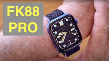 FINOW FK88 PRO Apple Watch Shaped Bluetooth Calling Pilates Fitness Smartwatch:  Unboxing & 1st Look
