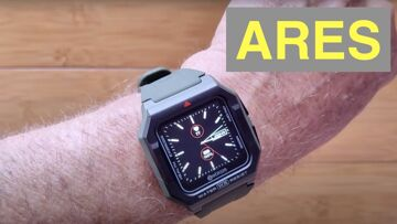 Zeblaze ARES 3ATM Waterproof Swimming Health/Fitness Rugged Smartwatch: Unboxing and 1st Look