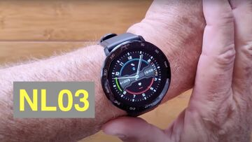 NORTH EDGE NL03 Outdoor IP67 100M Waterproof Health/Sports Fitness Smartwatch: Unboxing and 1st Look