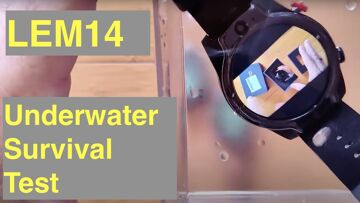 LEM14 Android 10 4GB/64GB Smartwatch 5ATM Waterproofing Test and LEMFO Special Promotional Pricing
