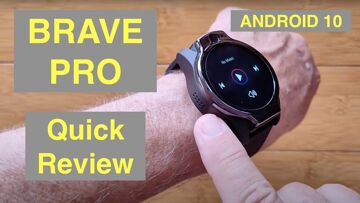 ROGBID BRAVE PRO (LEM14) Android 10 Dual Cams 4GB/64GB 5ATM Waterproof 4G Smartwatch: Quick Overview