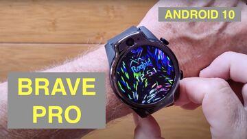 ROGBID BRAVE PRO (LEM14) Android 10 Dual Cams 4GB/64GB 5ATM Watproof 4G Smartwatch: Unbox & 1st Look