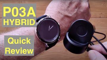 LEFIT P03A Hybrid Analog/Digital 5ATM Waterproof Blood Pressure Dress Smartwatch: Quick Review