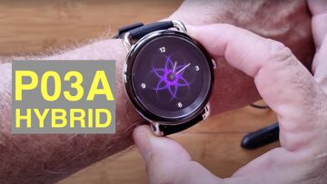 LEFIT P03A Hybrid Analog/Digital 5ATM Waterproof Blood Pressure Dress Smartwatch: Unbox & 1st Look
