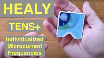 HEALY Individualized Microcurrent Frequencies and TENS+ Device with Closed Feedback Smartwatch