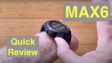 SENBONO MAX6 IP67 Waterproof Bluetooth 5.0 Calling Blood Pressure Sports Smartwatch: Quick Overview