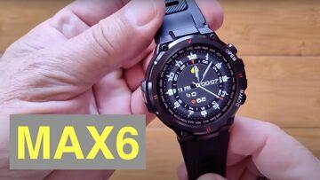 SENBONO MAX6 IP67 Waterproof Bluetooth 5 Calling Blood Pressure Sports Smartwatch: Unbox & 1st Look