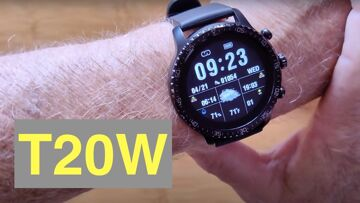 TINWOO T20W 5ATM Waterproof Always On Screen Qi Charging Fitness Sports Smartwatch: Unbox & 1st Look
