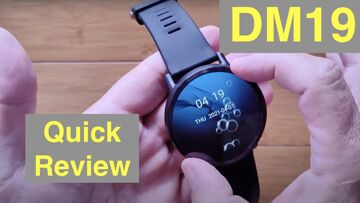 DM19 (LEMX) Android 7.1.1 900 mAh 2-inch Screen 4G LTE IP67 Waterproof Smartwatch: Quick Overview