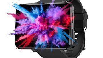 Ticwris Max 4G Smart Watch Telefon Android 7.1 MTK6739 Quad Core 3GB / 32GB Smartwatch Otkucaji srca Pedometar IP67 Vodootporan – Crna