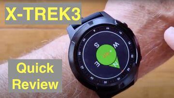 NORTH EDGE X-TREK3 Outdoor IP67 Waterproof GPS Health/Sports Fitness Smartwatch: Quick Overview