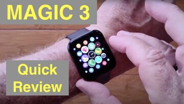 KOSPET MAGIC 3 Apple Watch Shaped Health Fitness Sports Smartwatch: Quick Overview