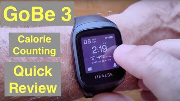 HEALBE GoBe3 Smartwatch Tracks Calorie Intake, Hydration, Heart Rate, Stress & More: Quick Overview