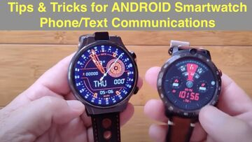 How to Setup Call Forwarding and Direct Texting from an Android Smartwatch using your Phone's Number