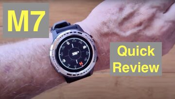 Bakeey M7 Bluetooth Calling GPS Altimeter Compass Adventurer's Sports Smartwatch: Quick Overview