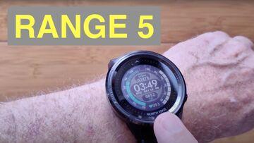 NORTH EDGE RANGE 5 GPS Altimeter Compass 5ATM Diver/Adventurer's Sports Smartwatch: Unbox & 1st Look