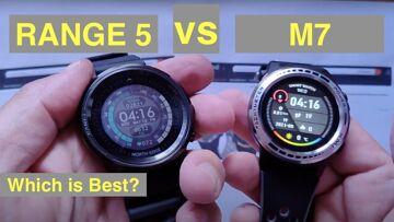 Bakeey M7 vs NORTH EDGE RANGE5 Adventurer's GPS Altimeter Compass Sports Smartwatches: Which is Best