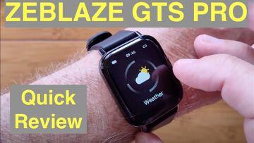 ZEBLAZE GTS PRO Apple Watch Shaped IP67 Waterproof Updated Fitness Smartwatch: Quick Overview