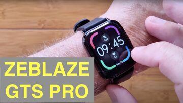 ZEBLAZE GTS PRO Apple Watch Shaped IP67 Waterproof Updated Fitness Smartwatch: Unboxing and 1st Look