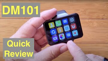 DM101 ( Like MAX S) 2.4 inch Screen 2000mAh Dual Camera 4G 3G+32G Smartwatch: Quick Overview