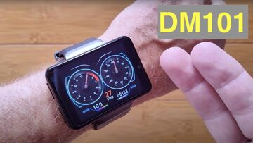 DM101 ( Like MAX S) 2.4 inch Screen 2000mAh Dual Camera 4G 3G+32G Smartwatch: Unboxing & 1st Look