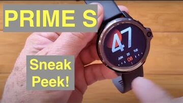 KOSPET PRIME S Dual Camera (with TOP cam like GENESIS has) New Tech Android Smartwatch: Sneak Peek