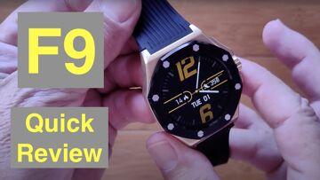 Bakeey F9 Specialty Designed Luxury Business IP67 Waterproof Health Smartwatch: Quick Overview