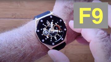 Bakeey F9 Specialty Designed Luxury Business IP67 Waterproof Health Smartwatch: Unboxing & 1st Look