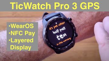 Mobvoi TicWatch Pro 3 GPS WearOS IP68 Smartwatch Google Pay, GPS, Dual Screens: Unboxing & 1st Look